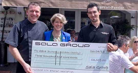 Sala Golf supporting Malaga Charities