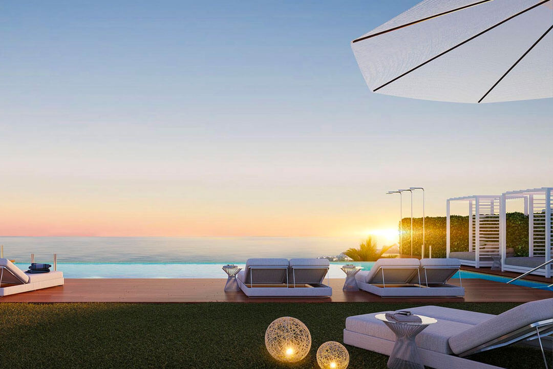 77 luxury apartments frontline to the magnificent Calanova Golf course