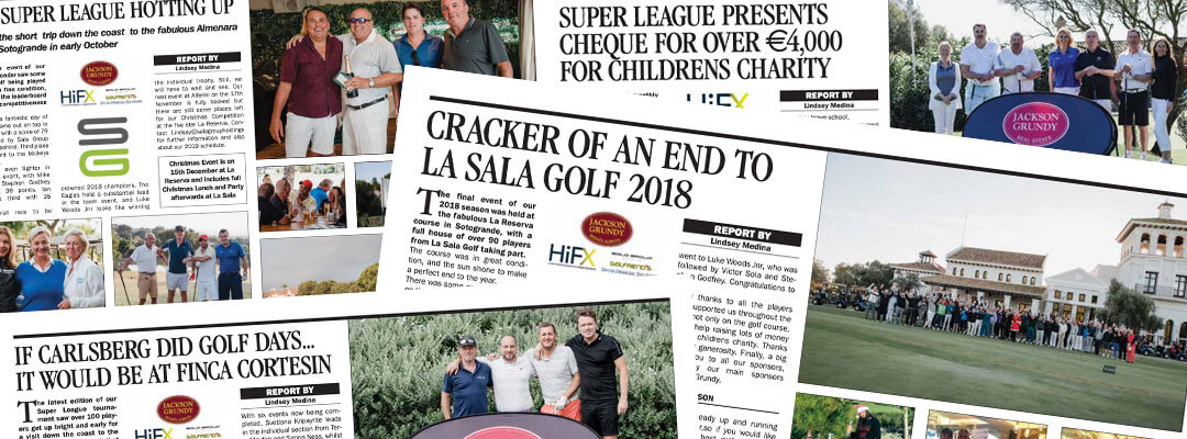 Sala Golf in the Press